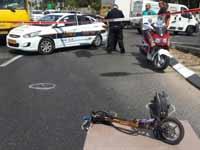 תאונת קורקינט/ צילום: באדיבות איחוד הצלה