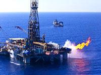 אסדת גז לוויתן / צילום: אלבטרוס