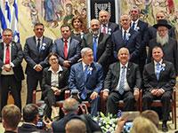 ראש הממשלה בנימין נתניהו, נשיא המדינה ראובן ריבלין והכנסת ה-21 / צילום: יוסי זמיר