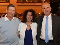 שמשון הראל, עדי קמחי ודן יקיר / צילום: אוהד הרכס, מכון ויצמן למדע