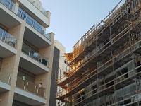 """פרויקטים במסגרת תמ""""א 38 ברחוב השר משה ברמת גן / צילום: גיא ליברמן"""