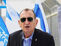 רון חולדאי במסיבת העיתונאים היום על שדה דב / צילום: שלומי יוסף