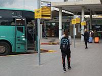 תחנת אוטובוס בינעירוני /  צילום: Shutterstock / א.ס.א.פ קריאייטיב