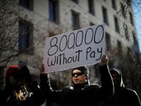 מחאה נגד השבתת הממשל / צילום: רויטרס, Carlos Barria