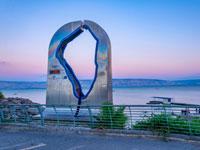 קו החוף ההיקפי של הכנרת/  צילום: : Shutterstock אס אי פי קריאייטיב