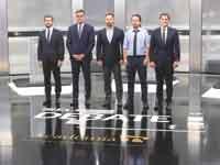חמשת המועמדים המובילים בעימות הטלוויזיוני/ צילום:  רויטרס