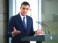 ראש ממשלת ספרד, פדרו סנצ'ז/ צילום: רויטרס