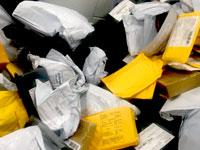חבילות בדואר / צילום: מיכל רז חיימוביץ