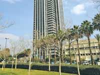 בניין קרית עתידים בתל אביב, בעל תקן בנייה ירוקה / צילום : אלון רון