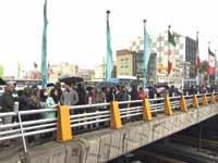 מפגינים בטהרן על העלאת מחירי הדלק. / צילום: רויטרס