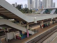 תחנת רכבת ריקה / צילום: אמיר מאירי