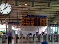 שביתה בתחנת רכבת סבידור/ צילום: אמיר מאירי