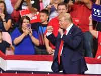 הנשיא טראמפ משיק רשמית את מסע הבחירות שלו לנשיאות ב־2020/ צילום: רויטרס
