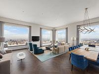 """סנטרל פארק ווסט 220 - הסלון של הדירה היקרה בעולם / צילום: יח""""צ"""
