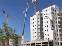 תאונת הבנייה ביבנה / צילום: יוסי כהן