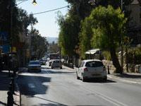 רחוב עמק רפאים בירושלים / צילום: איל יצהר