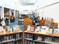 """ספריית מרטין לות'ר קינג שבמלבורן, ארה""""ב / צילום: רויטרס"""