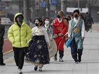 התפרצות נגיף הקורונה בדרום קוריאה / צילום: Lee Jin-man, AP