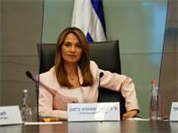 """ח""""כ יפעת שאשא-ביטון בוועדת הקורונה / צילום: יגאל אמיתי , דוברות הכנסת"""