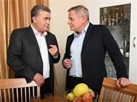 """ניצן הורוביץ ועמיר פרץ / צילום: יח""""צ"""