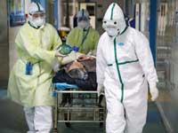 חולה קורונה בסין/ צילום: רויטרס CHINA DAILY