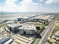 אזור הסחר החופשי DAFZA בדובאי. סמוך לנמל התעופה העמוס ביותר בעולם / צילום: DAFZA, דרך איגוד לשכות המסחר