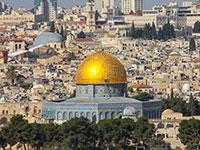 """מבט ממזרח ירושלים למרכז. """"יש הקלות והקבלנים תחמנים ומבקשים 12 קומות במקום 10""""   / צילום: shutterstock, שאטרסטוק"""