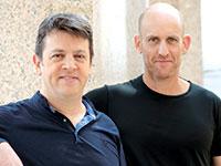 """מימין: ד""""ר אייל אוריון ואורן גולדשטיין / צילום: וקטוריוס טכנולוגיות רפואיות"""
