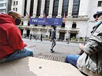 בורסת המניות של ניו יורק בתחילת אוקטובר. שגשוג חסר תקדים של חברות הטכנולוגיה / צילום: Anthony Behar, רויטרס