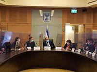 ועדת הכלכלה על תקנות הגבלות תעופה, היום / צילום: שמוליק גרוסמן, דוברות הכנסת