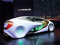 רכב עתידני של חברת טויוטה / צילום: shutterstock, שאטרסטוק