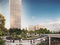 """המגדל בפרויקט """"אינפיניטי פארק"""" ברעננה / הדמיה: יח""""צ"""