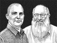 אדוארדו אלשטיין וצחי נחמיאס / איור: גיל ג'יבלי, גלובס