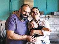 דנה שפירא ורונן מלחן, הורים לעמרי, בעלי דה סושיאליסט ועסק טעים / צילום: תמונה פרטית