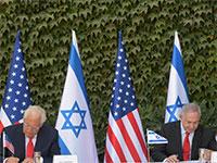"""ראש הממשלה, נתניהו ושגריר ארה""""ב, דיוויד פרידמן חותמים על הסכם לשיתוף פעולה מדעי בין ישראל לארה""""ב / צילום: משרד ראש ממשלה"""
