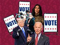 מה אתם יודעים על הבחירות. צילומים: AP / עיצוב: טלי בוגדנובסקי , גלובס