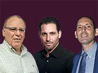 טל קדם, אורי בן דב, יעקב שיינין / צילומים: תמר מצפי, איל יצהר ואילן בשור