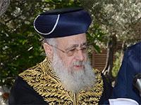 """הרב הראשי לישראל, יצחק יוסף / צילום: מארק ניימן, לע""""מ"""