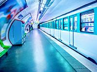 תחנת מטרו בפריז / צילום: shutterstock, שאטרסטוק