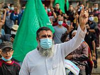 הפגנות בעזה / צילום: Ramez Habboub, רויטרס