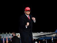 טראמפ במהלך הקמפיין בג'ורג'יה / צילום: Brandon Bell, רויטרס