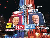 אולפן בחירות ברשת MSNBC / צילום: צילום מסך