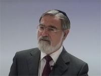 הרב יונתן זקס / צילום: מתוך יוטיוב