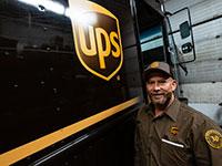 """נהג של UPS במישיגן, ארה""""ב / צילום: USA TODAY NETWORK, רויטרס"""