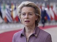 אורסולה פון דר ליין / צילום: Olivier Hoslet, Associated Press