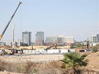 הקרקע שמשווקת כעת בבני ברק / צילום: כדיה לוי, גלובס