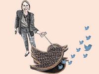 טל שניידר וטוויטר / איור: גיל ג'יבלי, גלובס