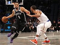 הכדורסלן ספנסר דינווידי מקבוצת ברוקלין נטס ב-NBA  / צילום: רויטרס