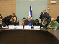 """דיוני הוועדה המסדרת בראשות ח""""כ אבי ניסנקורן / צילום: דוברות הכנסת, יח""""צ"""