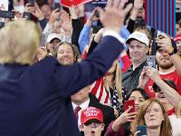 טראמפ בעצרת בחירות בוויסקונסין, השבוע / צילום: רויטרס